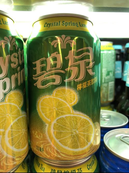碧泉檸檬茶 (330ml/1箱24罐)