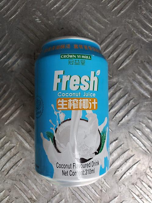 冠益堂生榨椰汁 (310ml/1箱24罐)