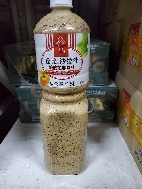 丘比培煎芝麻沙律汁 (1.5L)