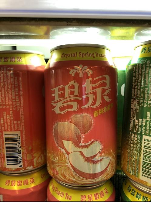 碧泉蜜桃茶 (330ml/1箱24罐)
