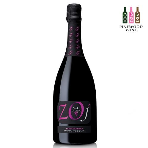 ZOJ Marzemino Rouge Dolce Spumante 維多卡酒莊 瑪澤米諾 甜氣泡紅酒 (750ml)