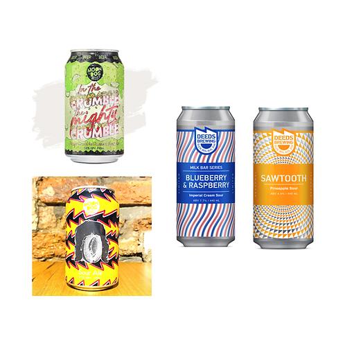手工啤酒 - 澳洲「酸」味濃郁 Package (1pack4款)