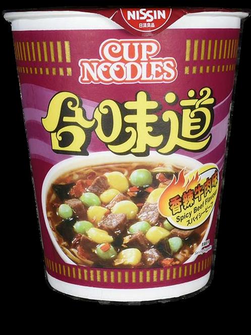 合味道 (香辣牛肉) (75g/6杯)