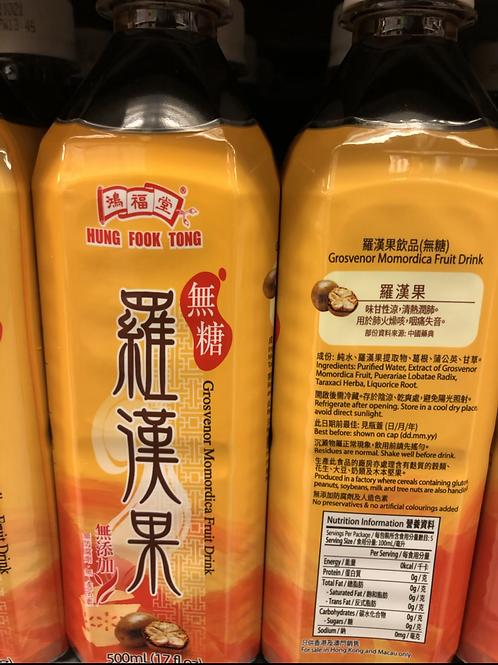 鴻福堂羅漢果 (500ml/1箱24枝)
