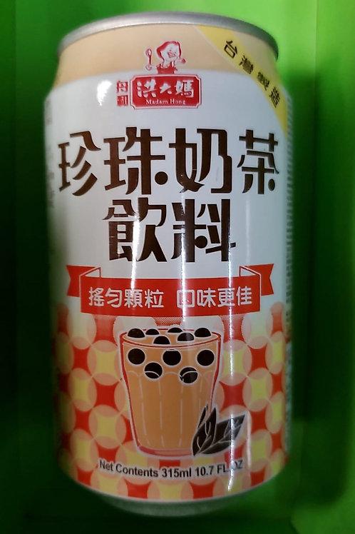 洪大媽珍珠奶茶飲料 (330ml/1箱24罐)