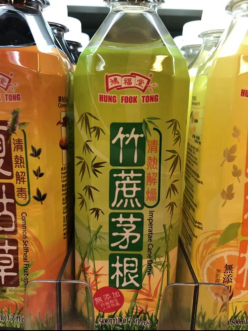 鴻福堂竹蔗茅根 (500ml/1箱24枝)
