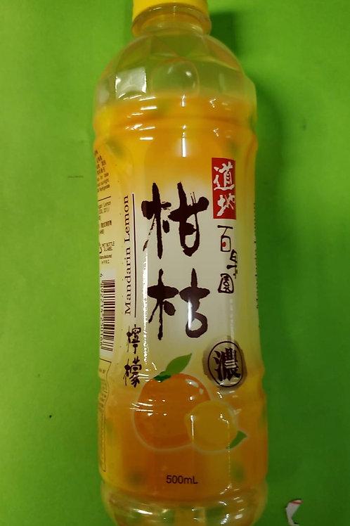 道地柑桔檸檬 (500ml/1箱24枝)