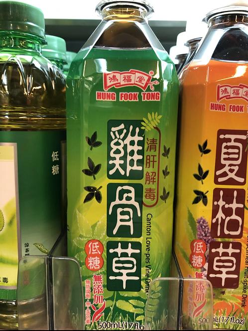 鴻福堂雞骨草 (500ml/1箱24枝)