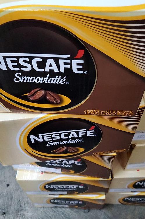 雀巢咖啡 SMOOVLATTE (268ml/1箱15枝)