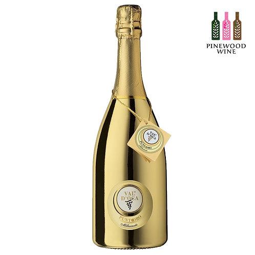 Punto Oro Gold Millesimato Extra Dry Spumante 維多卡酒莊 金點 氣泡酒 (閃耀黃金版) (750ml)