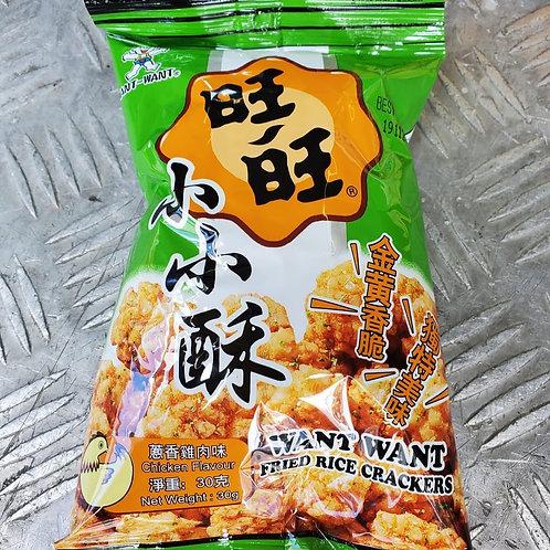 旺旺小小酥 (蔥香雞肉味) (30g/1pack10小包)