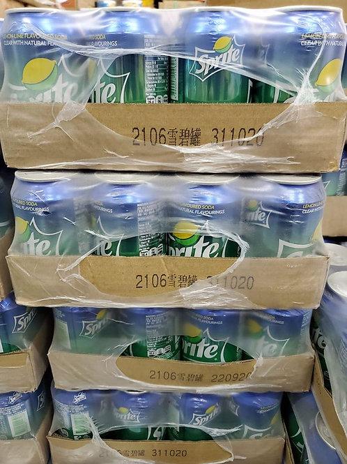 雪碧 (330ml/1箱24罐)