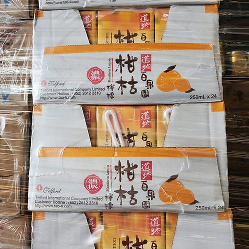 道地柑桔檸檬 (250ml/1箱24包)