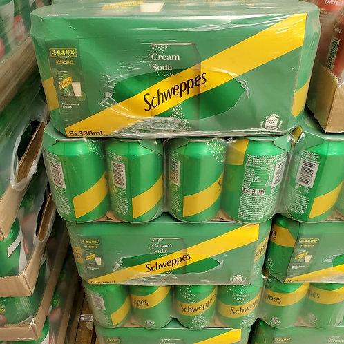 玉泉忌廉 (330ml/1箱24罐)
