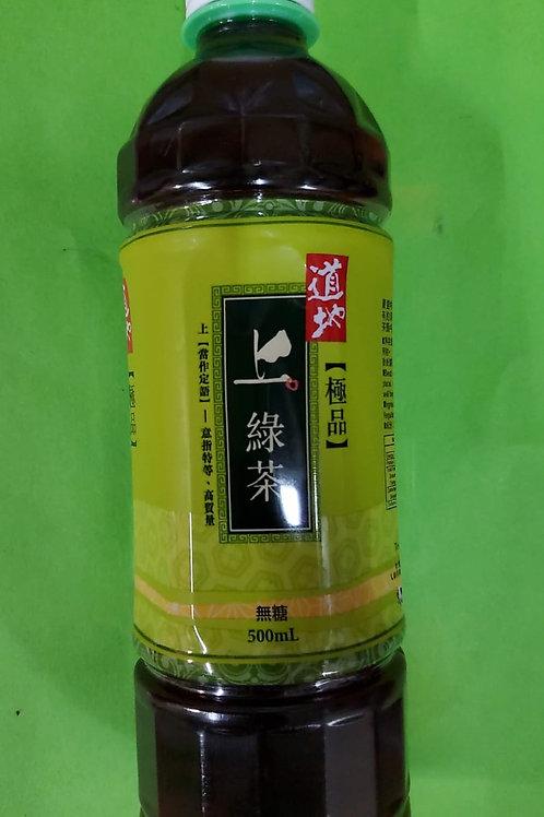 道地上綠茶 (500ml/1箱24枝)