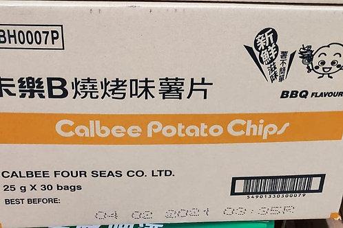 卡樂B燒烤味薯片 (25g/1箱30包)