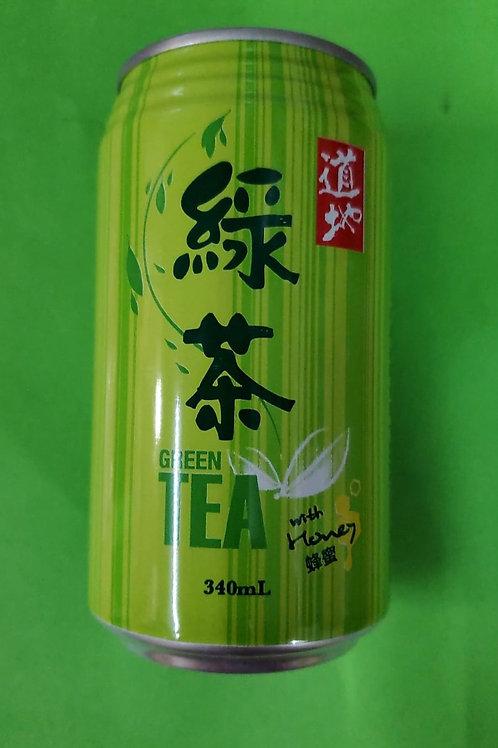 道地蜂蜜綠茶 (340ml/1箱24罐)
