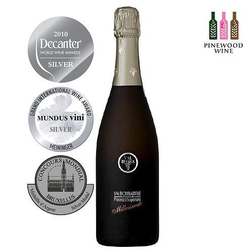 Valdobbiadene Millesimato Extra Dry DOCG Prosecco 維多卡酒莊 霧黑 氣泡酒 2018 (750ml)