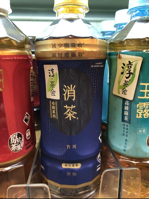 「淳。茶舍」消茶普洱茶 (無糖) (500ml/1箱24枝)