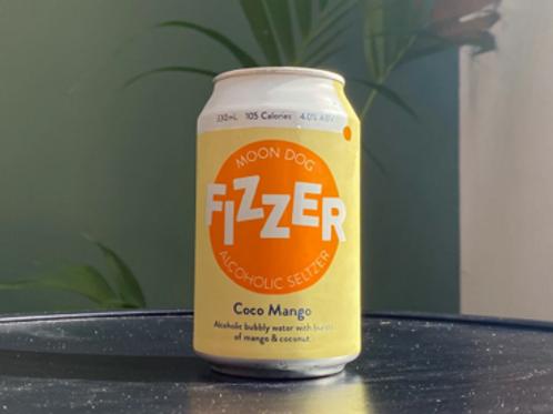 Moon Dog Fizzer Hard Seltzer: Coco Mango (330ml/1pack12罐)