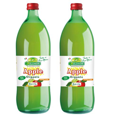 Melchiori Organic Apple Juice 梅基利蘋果園 有機冷榨蘋果汁 (1L/1箱12枝)