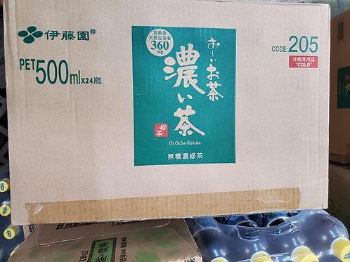 伊藤園濃味綠茶 (500ml/1箱24枝)