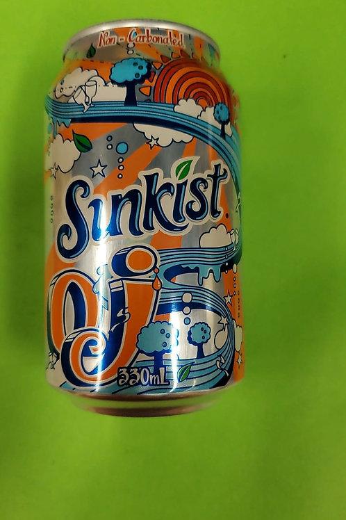 新奇士橙味汽水 (330ml/1箱24罐)