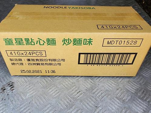 童星點心麵 (炒麵味) (41g/1箱24包)