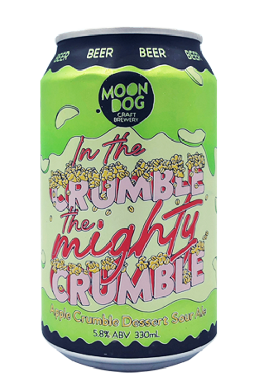 MOON DOG - In The Crumble Apple Crumble Dessert Sour Ale (330ml/1pack12罐)