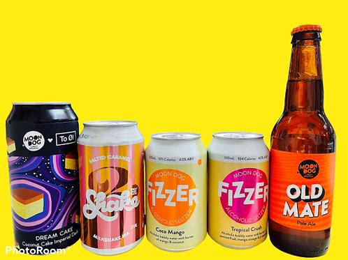 澳洲手工啤酒濃淡皆宜之選 (1pack5款)