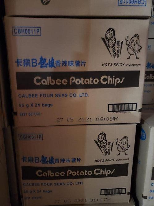 卡樂B熱浪薯片 (55g/1箱24包)