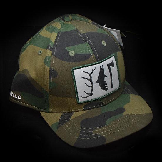 Rep Your Wild - Hunt.Fish.Camp Trucker Hat