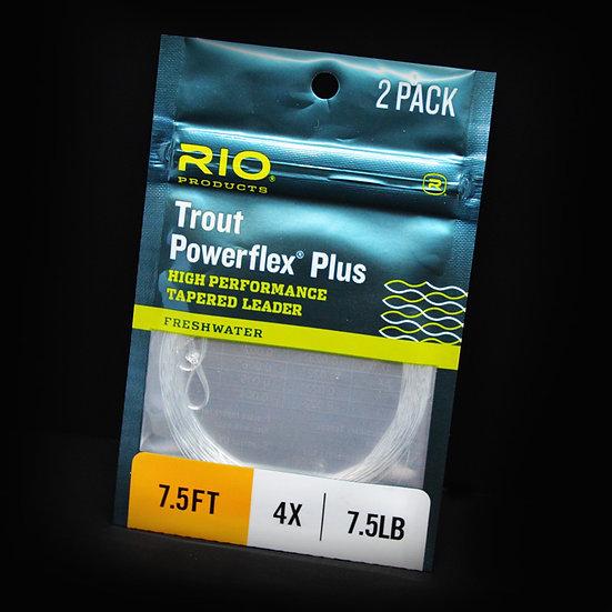 RIO Powerflex Plus - Trout Leader 2-Pack