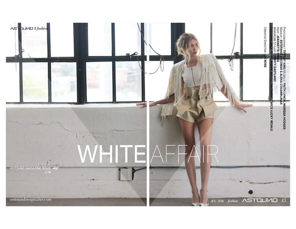 WHITE AFFAIR - ASTOUND MAGAZINE