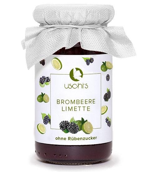 Fruchtaufstrich Brombeere - Limette - Zuckerfrei