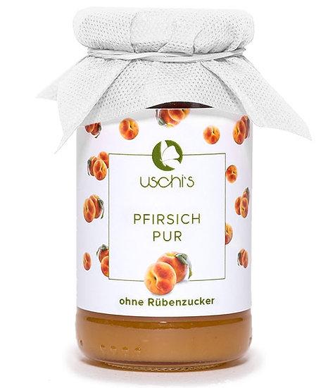 Fruchtaufstrich Pfirsich Pur - Zuckerfrei