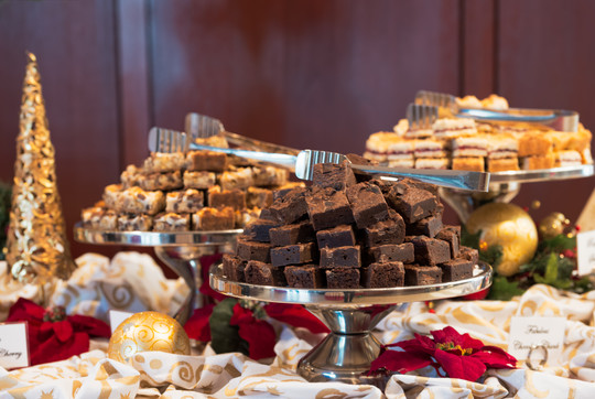 Holiday Brownie Bar