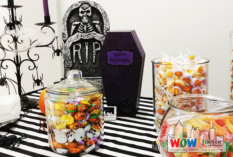Halloween Themed Candy Buffet