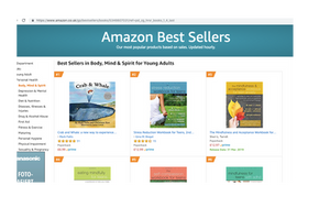 Mindfulness for kids book 'Crab and Whale' is now an Amazon 'Bestseller'