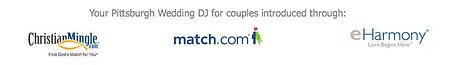 Pittsburgh Wedding DJ for Match.com, eharmony & Christianmingle.com
