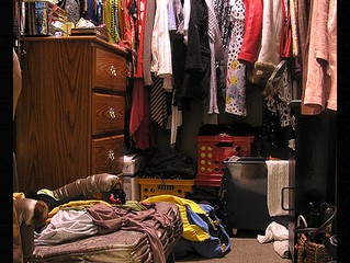 How Cleaning Your Closet Floor Clears Your Mind