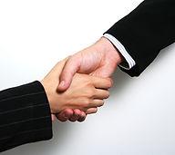 professionelle Handshake