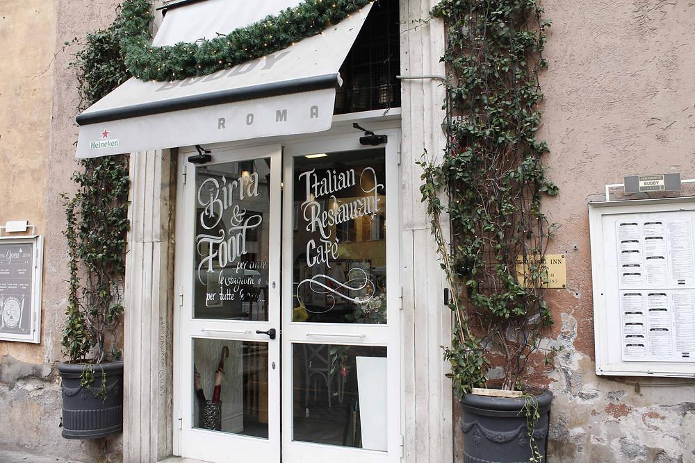 Buddy Cafe, vegan restaurant in rome