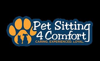 Pet Sitting For Comfort Logo