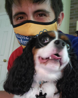 dogsitting-cavalier-selfie
