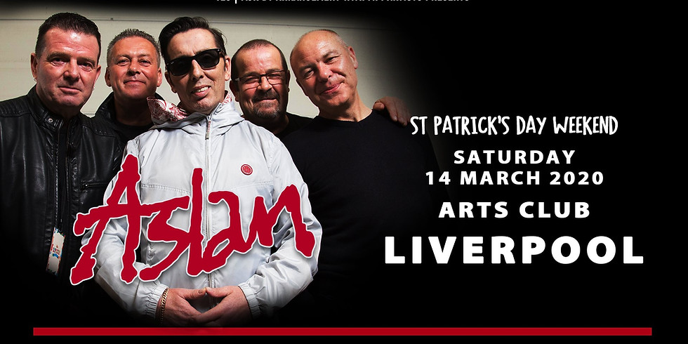 Aslan live in Liverpool