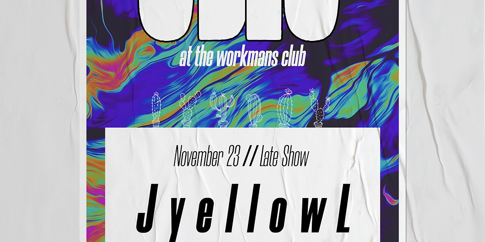 JyellowL - The Workman's Club Dublin
