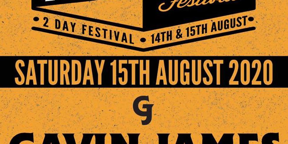 Gavin James live at REVIVAL Festival