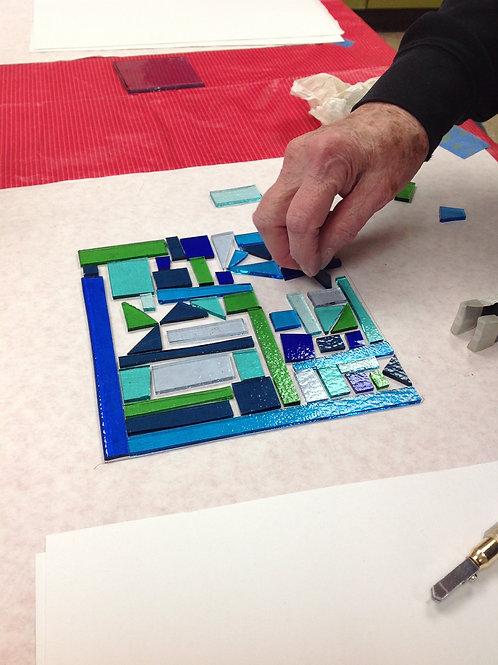 Making Mosaics - 18 and up -  6 weeks
