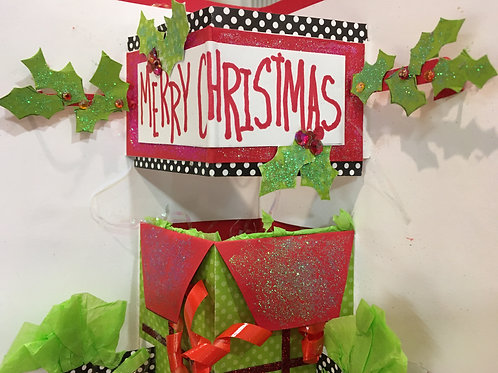 Create Your Own Christmas Pop-Up Card